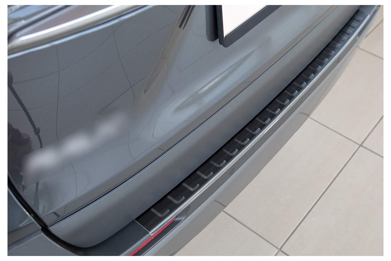 tuning-art L371 Protezione paraurti in Acciaio Inox Colore:Cromo