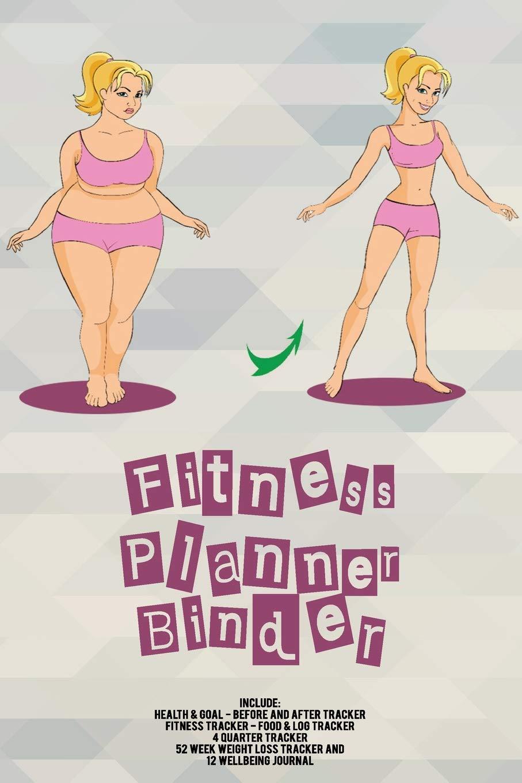 Fitness Planner Binder: Fitness Agenda, Fitness Planner ...