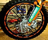 MADE IN USA BykasBlackSpoke, Covers, Wraps, Skins, CoatsDirt Bike 72 Spokes