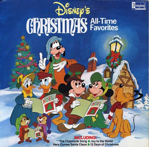 Disneys Christmas All-Time Favorites LP
