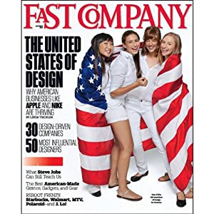 Audible Fast Company, October 2011 Periodical