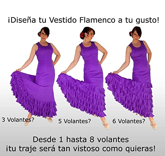 Design Your Own Flamenco Dress! All Colours!