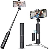 UMIDIGI Tripod Extendable Bluetooth Selfie Stick for iPhone & Android