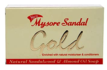 Review Mysore Sandal Gold Soap,