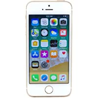 Apple iPhone SE, 1st Generation, 16GB, Gold - For AT&T (Renewed)