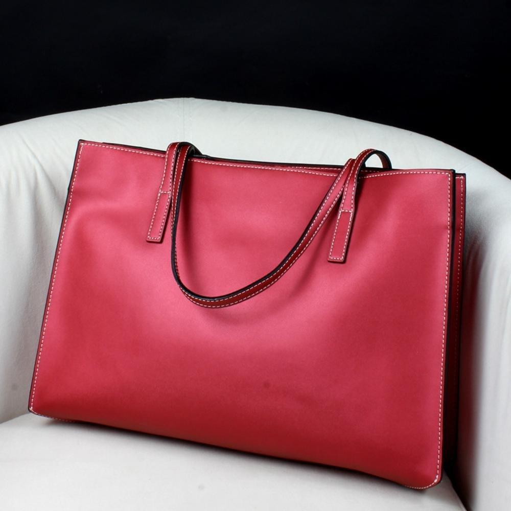 Aoligei Mode-Europa und die Vereinigten Staaten Leder Frauen Tasche Kuhfell Tasche Baotan Umhängetasche Handtasche Marke Frau Tasche B07BGQR713 Schultertaschen Qualität und Verbraucher an erster Stelle