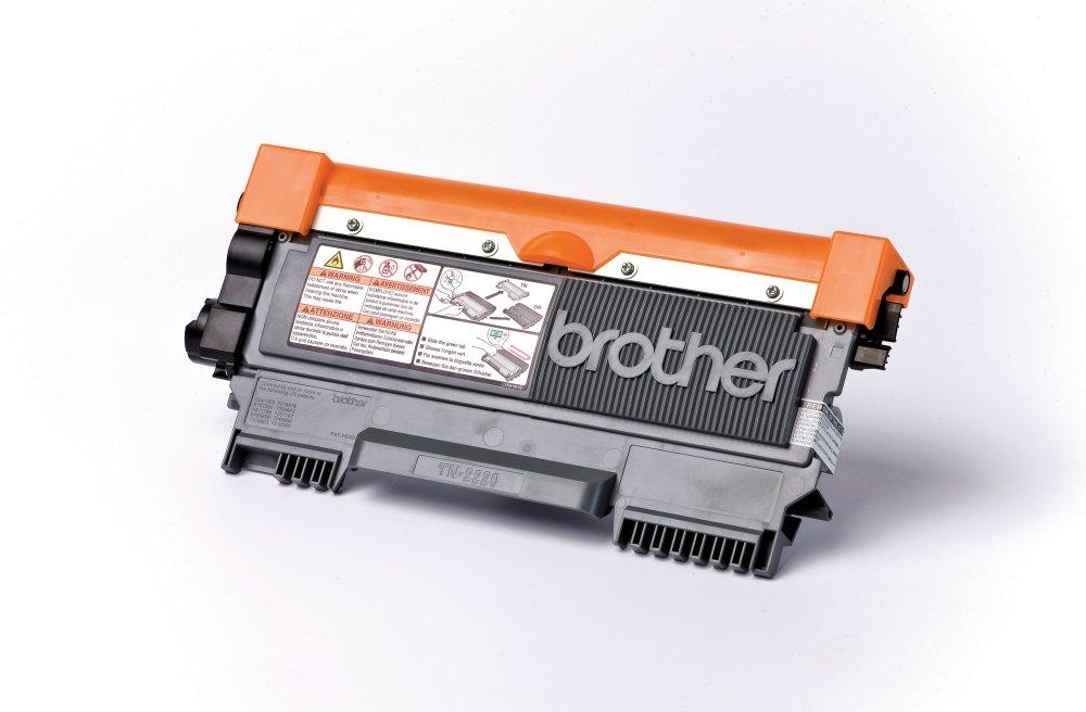 Brother TN-2210 Toner, Laser, Nero B004S26Y88 BrotherTonerTN-2210black Cartucce Inchiostroperstampanti