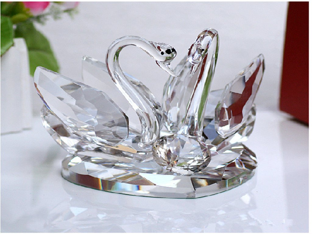 Office Gifts Crystal Crafts Decorations Swan