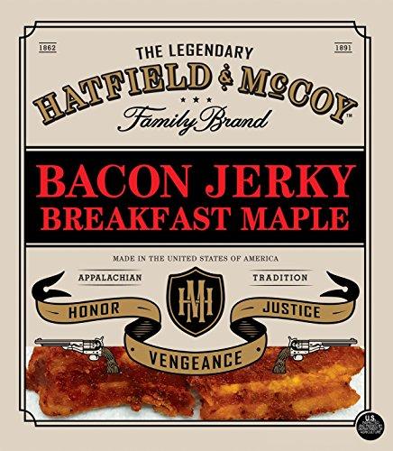 Maple Bacon - Hatfield & McCoy Breakfast Maple Bacon Jerky