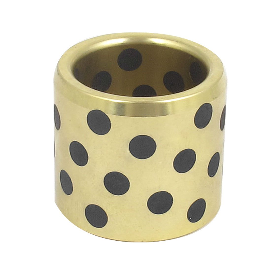 sourcingmap Oilless Graphite Lubricating Brass Bearing Bushing Sleeve 25mmx33x30mm US-SA-AJD-124436