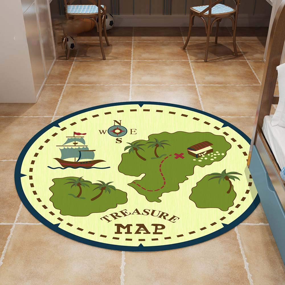 Unbekannt Teppich Kinder der Welt Prinzessin Castle Spielen Zelt Haus für Mädchen Indoor Outdoor Spielzeug Childrens Rug Mat modernes Design Spielmatte Kinderzimmer Teppiche Non Slip