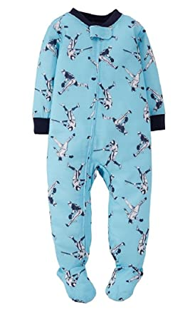 Amazon.com: Carter's Toddler Boys 1-Piece Pajamas Footed Snug Fit ...