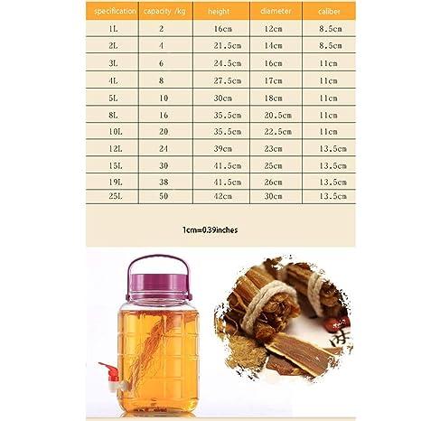 Jian E Wine Barrel-enzima Barrel Botella de Vino elaborada ...