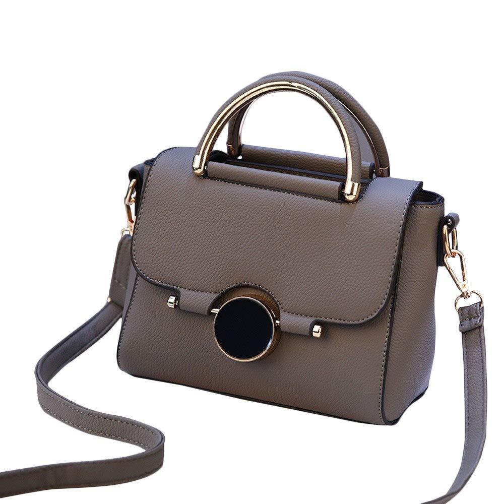 ANJUYA Tote Bag Handbags PU Leather Messenger Bag Backpack Crossbody Handbags for Girls Handbag for Women Vintage Tote Travel Strap