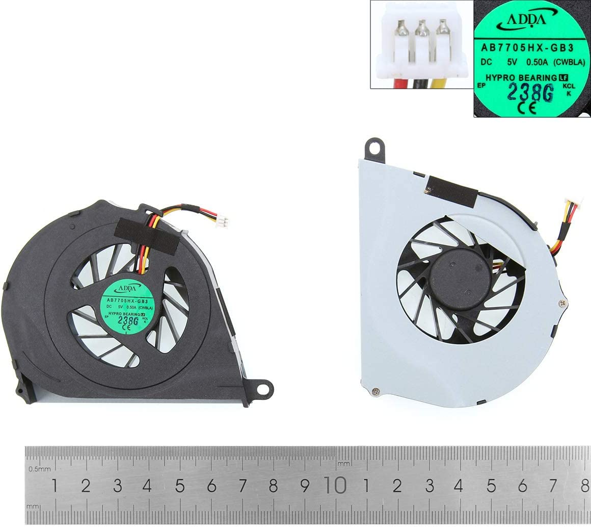 Laptop Replacement CPU Cooling Fan for Toshiba Satellite L755 L755D(Original)