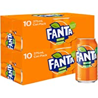 Fanta Orange Soft Drink Multipack Cans 20 x 375mL