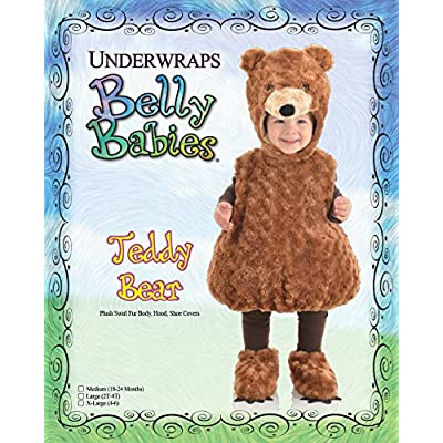 Underwraps Toddler's Teddy Bear Belly Babies Costume: Clothing