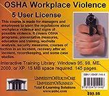 OSHA Workplace Violence, 5 Users, Farb, Daniel and Gordon, Bruce, 1594911444