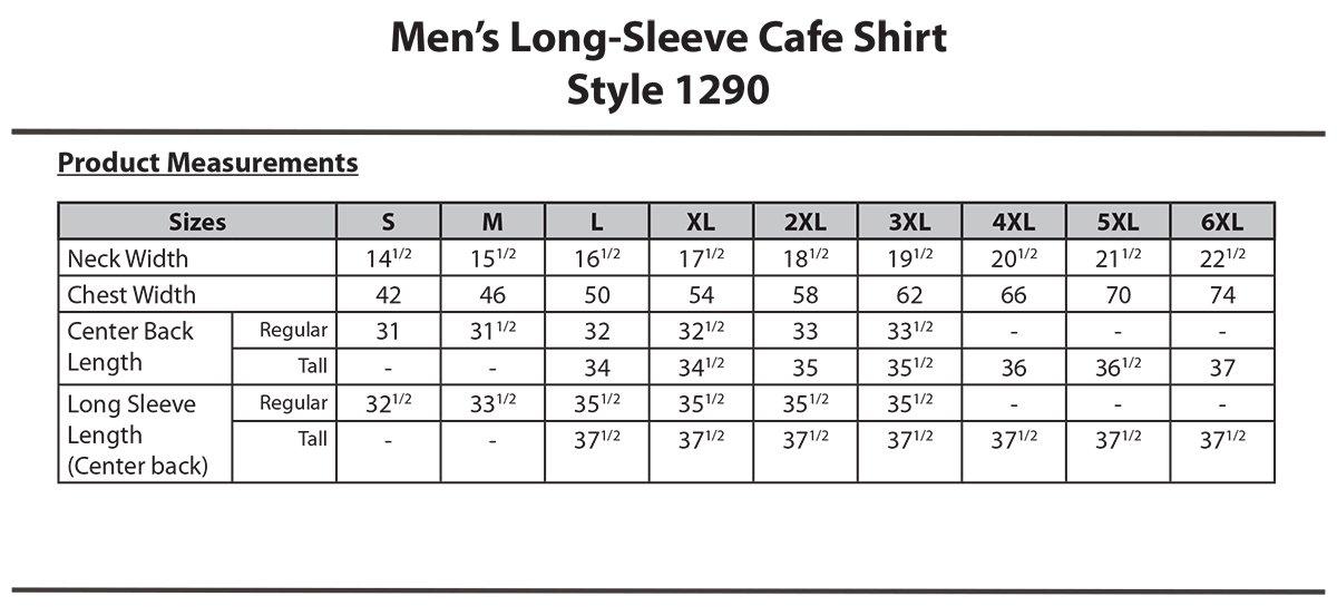 Edwards Garment Men'S 1290 Performance Civil Shirt (Royal 6X-L-T)