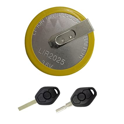 Amazon Com Supercobe Rechargeable Lir 2025 Battery 3 6v For Bmw Key