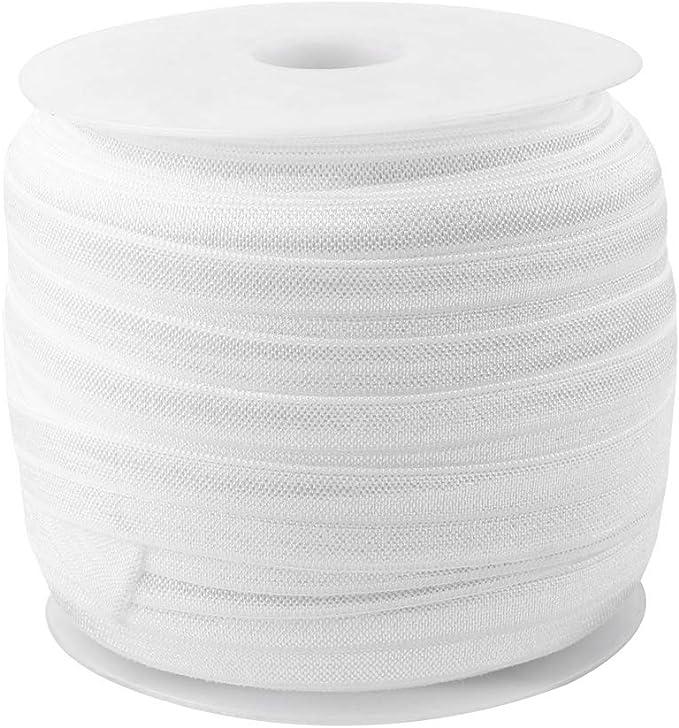 Midi Ribbon Warm Gradient Color Printed Stretch Foldover Elastic Band 5//8 X 10 Yards//Roll-Design 2-Handmade Hair Tie Headband Ponytail Holder Sewing Supplies