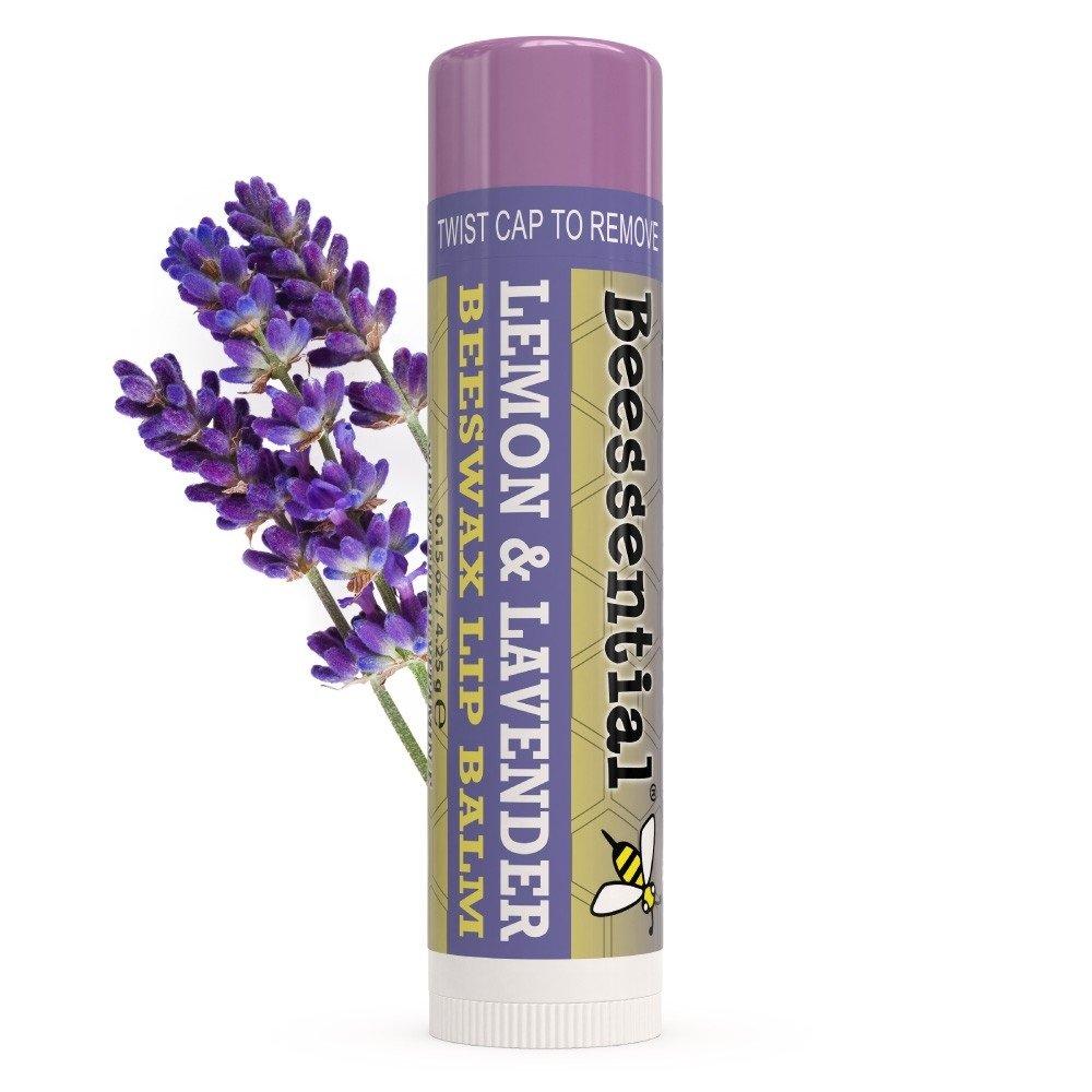 Beessential Lemon Lavender Lip Balm, Pack of 2