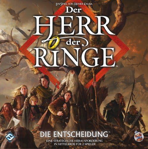 Heidelberger Spieleverlag - Peluche Señor de los Anillos El señor de los Anillos, para 2 Jugadores (versión en alemán): Amazon.es: Juguetes y juegos