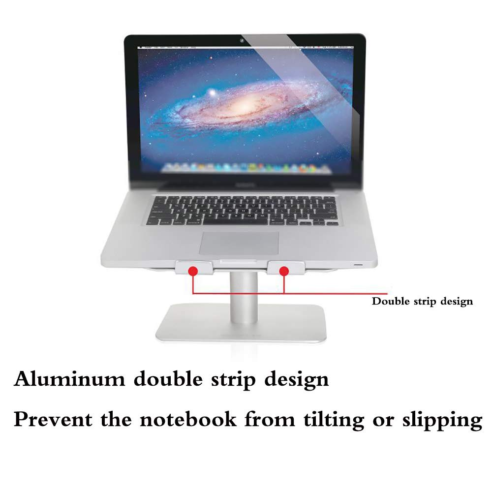 Portable Notebook Stand Universal Adjustable Laptop Stand for 11 to 17 Inch Travel Foldable Laptop Stand Tablet Desktop Holder YIRENXIAO Laptop Stand for Desk