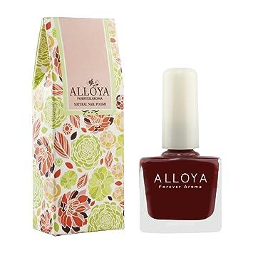 Amazon.com: Alloya Natural Non Toxic Nail Polish, Water Based, 032 ...
