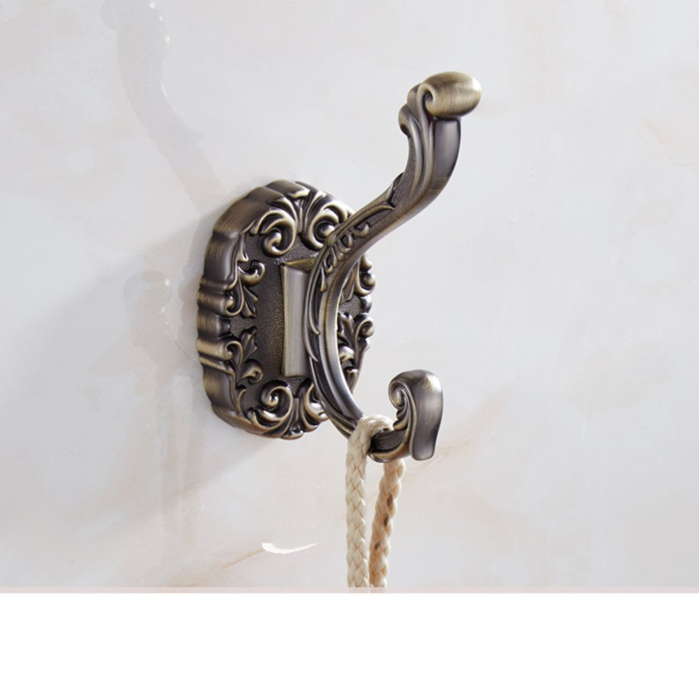 continental hook/ antique hooks/ bathroom hooks/ wall hangings/coat and hat hook -O delicate
