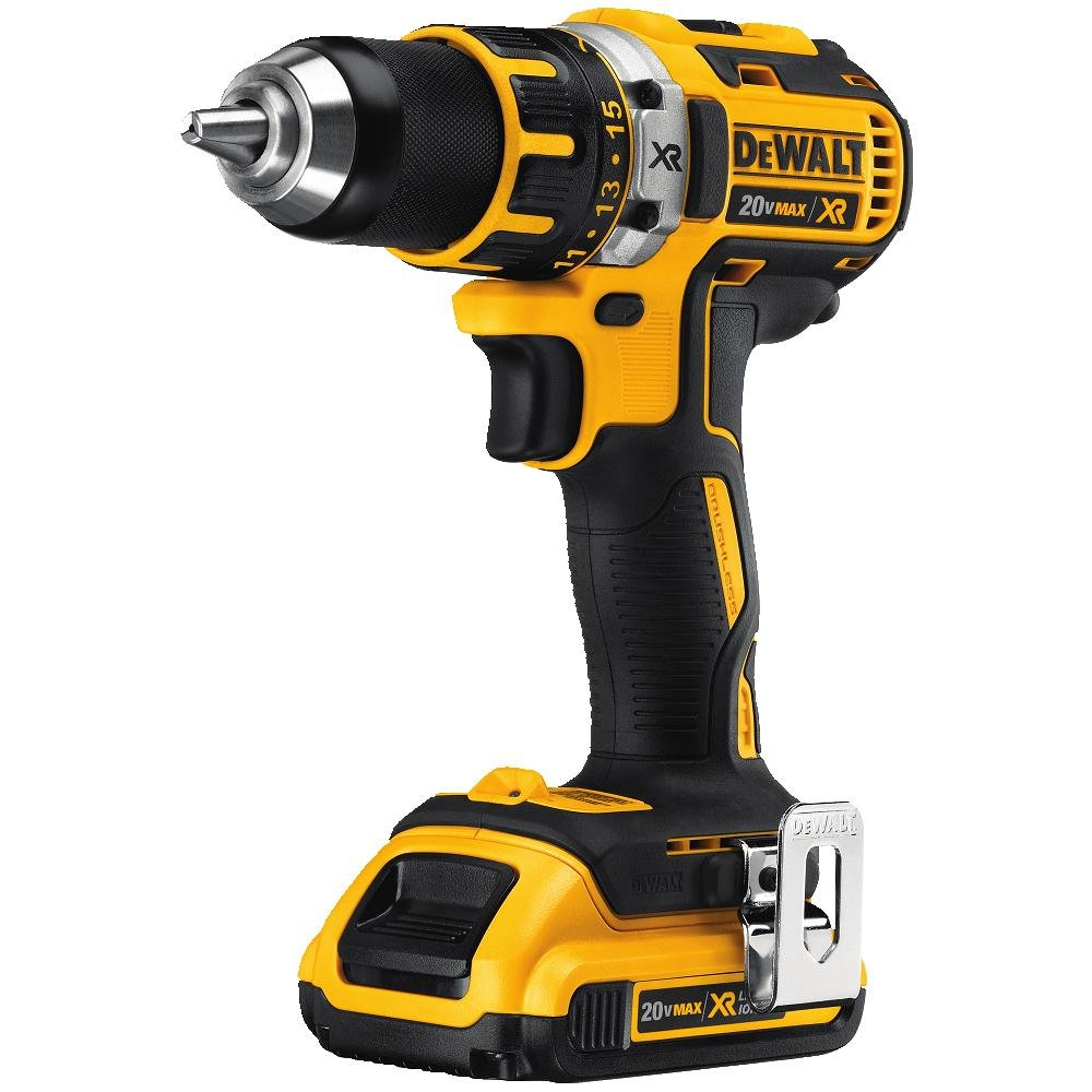 DEWALT DCD790D2 20V MAX XR Lithium-Ion Brushless Compact Drill Driver Kit