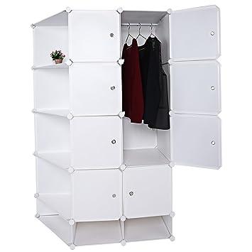 Benlet 15 Cube Organizer Cubby Shelving Plastic Storage Cube Wardrobe DIY Modular Bookcase Closet System  sc 1 st  Amazon.com & Amazon.com: Benlet 15 Cube Organizer Cubby Shelving Plastic Storage ...