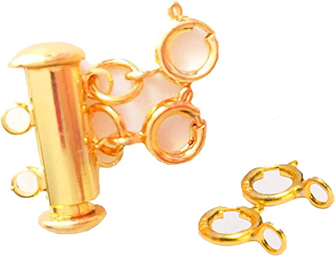 Hot Jewelry Necklace ~ Tangled Gardens orange