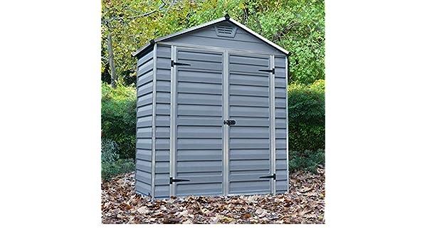 6 x 3 Palram SkyLight de plástico gris cobertizo - barato cobertizos - Cobertizos: Amazon.es: Jardín