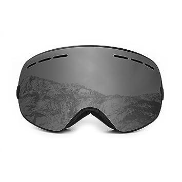 004c4bc0e08 Ocean Sunglasses Cervino - gafas de esquí - Montura   Negro - Lentes    Ahumadas (YH-3101.0)  Amazon.es  Deportes y aire libre