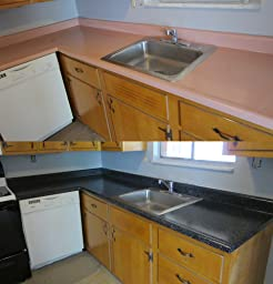 Rustoleum Countertop Paint Smell : Amazon.com: Customer Reviews: Rust-Oleum Countertop Transformations ...