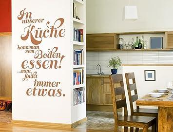 Gut I Love Wandtattoo 12050 Wandtattoo Küchen Spruch U0026quot;In Unserer Küche  Kann Man