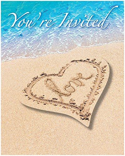 Creative Converting Count Beach Invitations