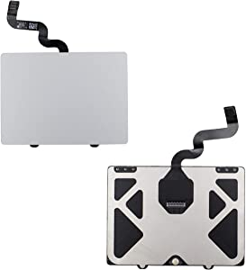 """Totola Touchpad Compatible with MacBook pro 15"""" Retina A1398 Trackpad Only Fit Mid 2012 (MC975, MC976), with Flex Cable"""