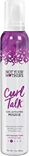 product image for Not Your Mothers Curl Talk Curl Activating Mousse 7 Ounce