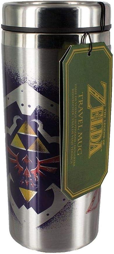 Schild /& Link Thermobecher Füllmenge 450 mlOffizielles Merchandis Zelda
