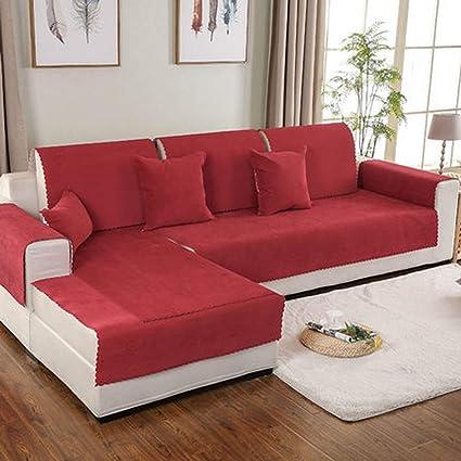 Funda de sofá impermeable Chaise longue para mascotas perro seccional sofá antideslizante resistente al agua antimanchas sofá funda muebles protector ...