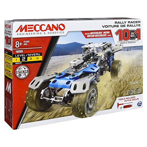 Meccano 10M Set Motorized Car Building Kit