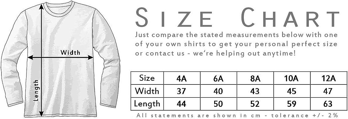 Urban Backwoods Kitt Voice Box Bambini e Ragazzi Ragazze Maglia a Manica Lunga T-Shirt