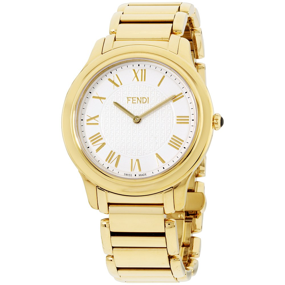 Fendi Mens white dial, stainless-steel bracelet watch F251414000XG (Certified Refurbished)
