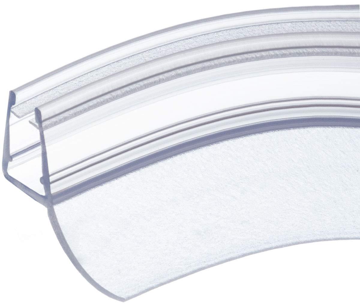 pour verre /épaisseur 5mm// 6mm// 7mm// 8mm pour quadrant douche arqu/é 90cm UK12 Joint d/étanch/éit/é de remplacement pour douche circulaire//ronde