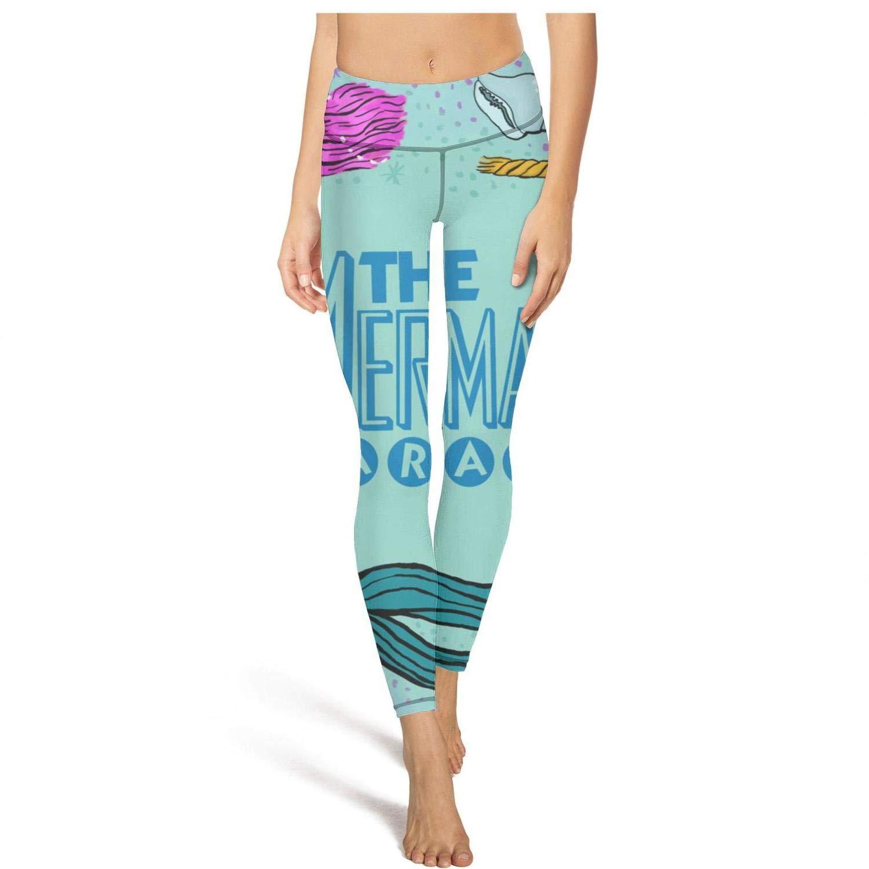 Cool Leggings for Women Coney Island Mermaid Parade June 23 Poster Capris Womens Yoga Pants Stretch Leggins