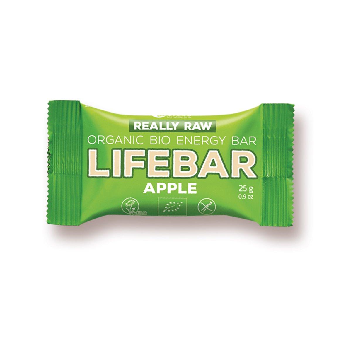 Lifefood Barritas Energéticas Mini Manzana - 10 Paquetes de 25 gr - Total: 250 gr: Amazon.es: Alimentación y bebidas