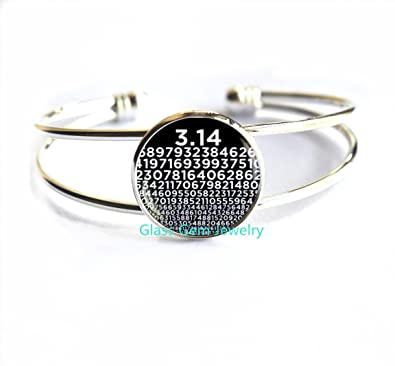 Pi Bracelet Numbers Of Pi Bracelets Mathematics Math Bracelet