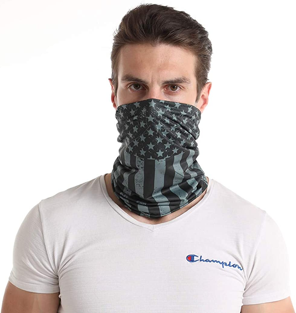 Cooling Neck Gaiter/Face Cover/Balaclava/Headband for UV Resist Hot Summer Cycling Hiking Fishing